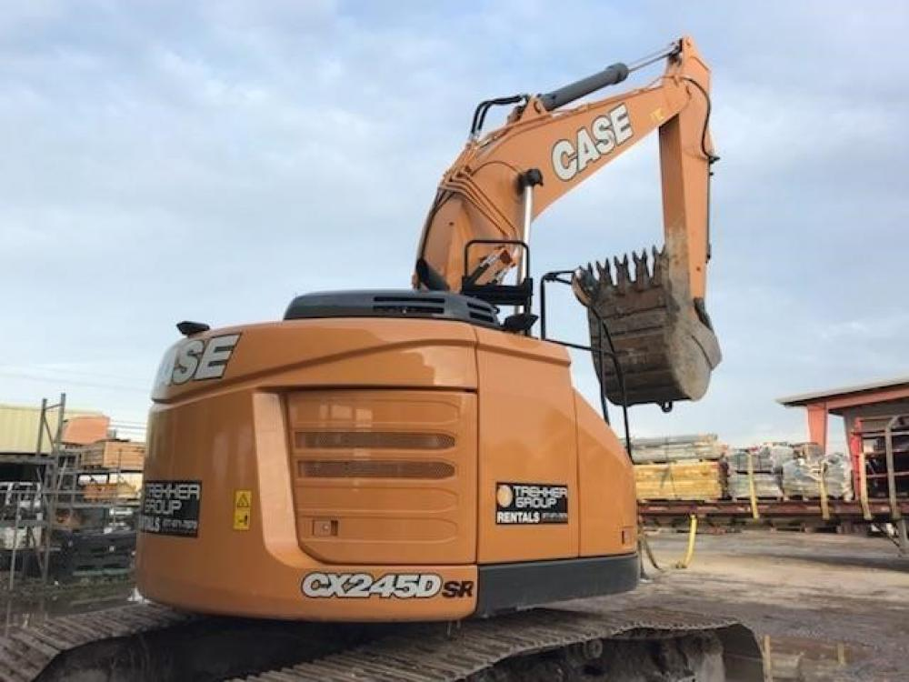 Detail photo of 2017 Case CX245D SR from Construction Equipment Guide