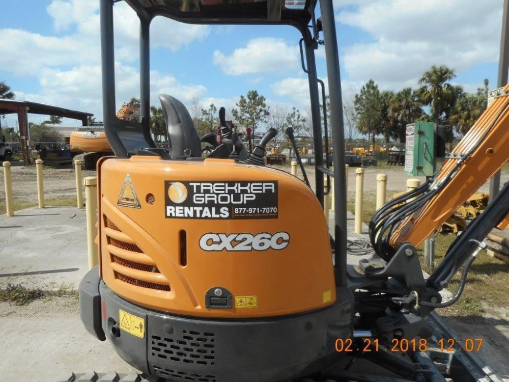Detail photo of 2018 Case CX26C from Construction Equipment Guide