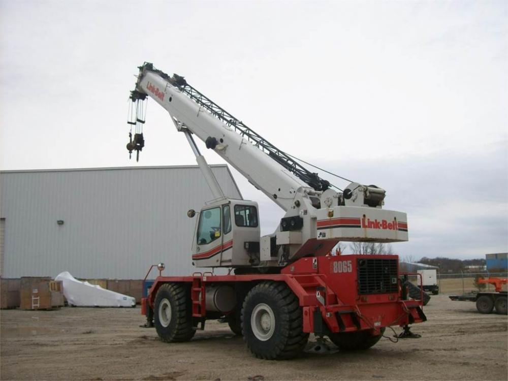 Detail photo of 2009 Link-Belt RTC-8065 II from Construction Equipment Guide