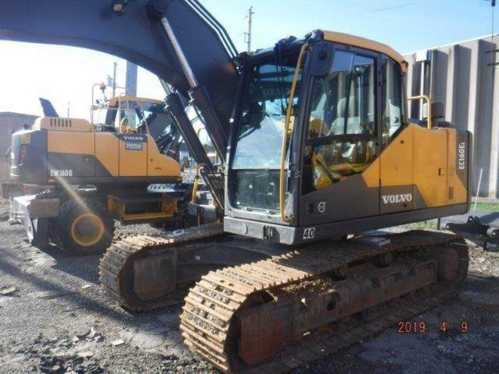 Detail photo of 2015 Volvo EC160EL from Construction Equipment Guide