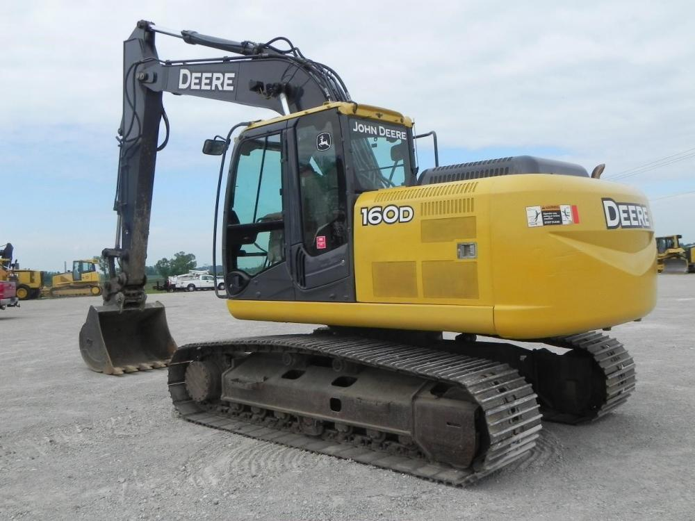 Detail photo of 2012 John Deere 160D LC from Construction Equipment Guide