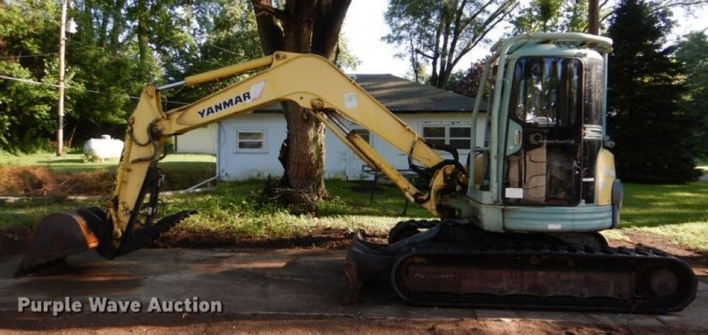 Detail photo of 1999 Yanmar VIO70 from Construction Equipment Guide