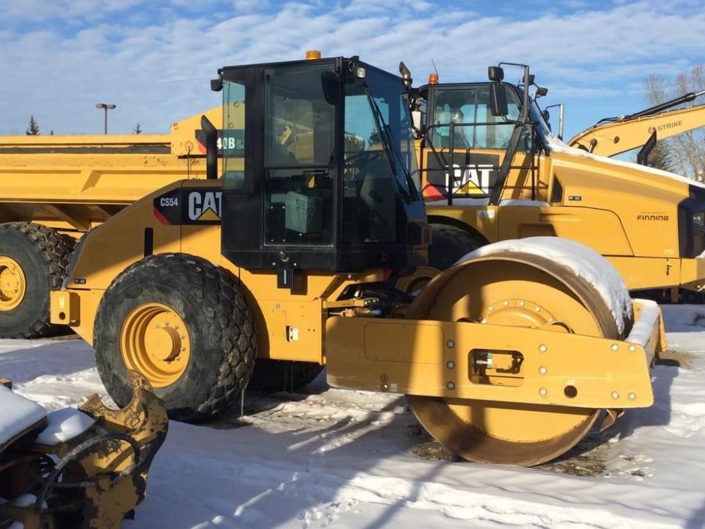 Detail photo of 2011 Caterpillar CS54 from Construction Equipment Guide