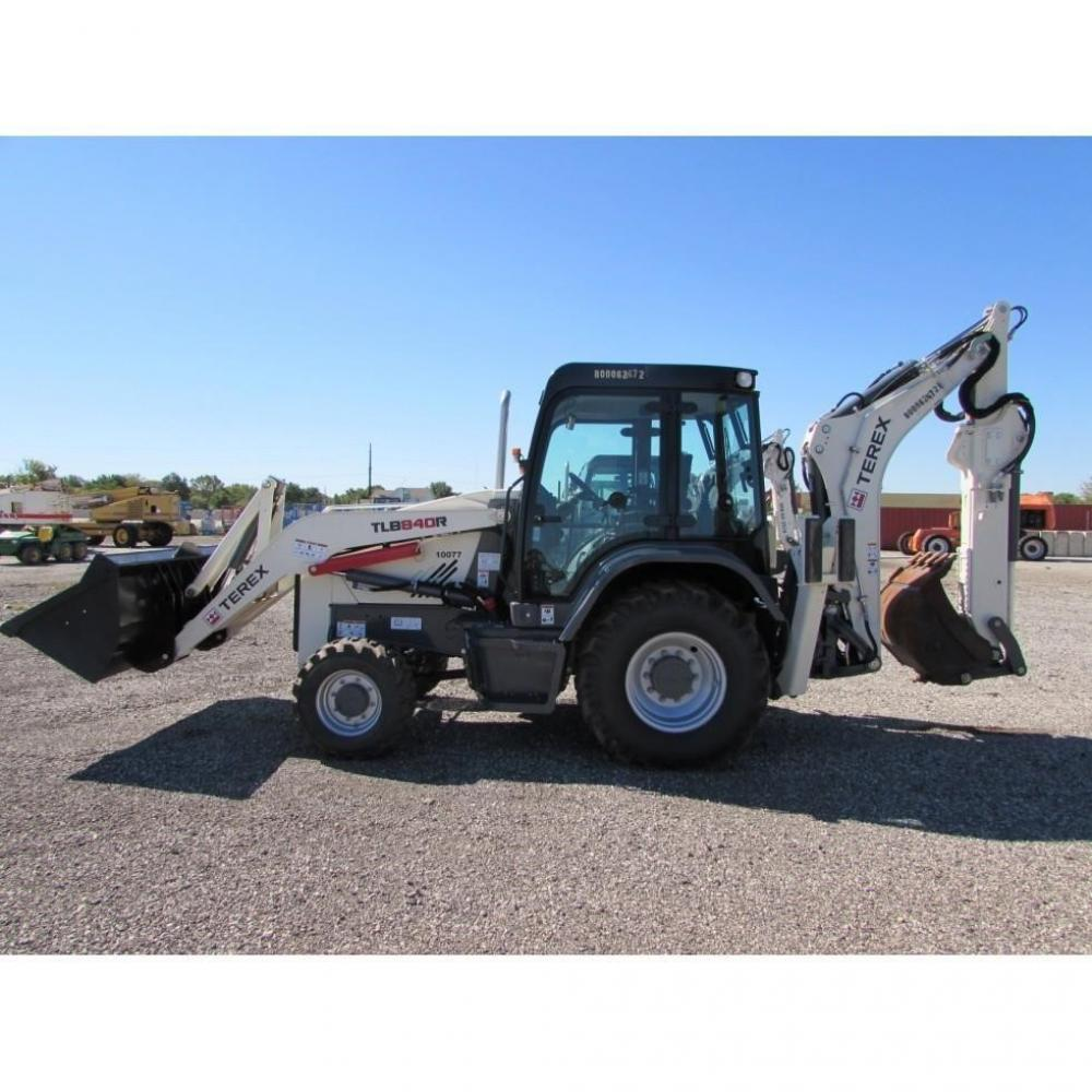 Detail photo of 2015 Terex TLB 840R from Construction Equipment Guide