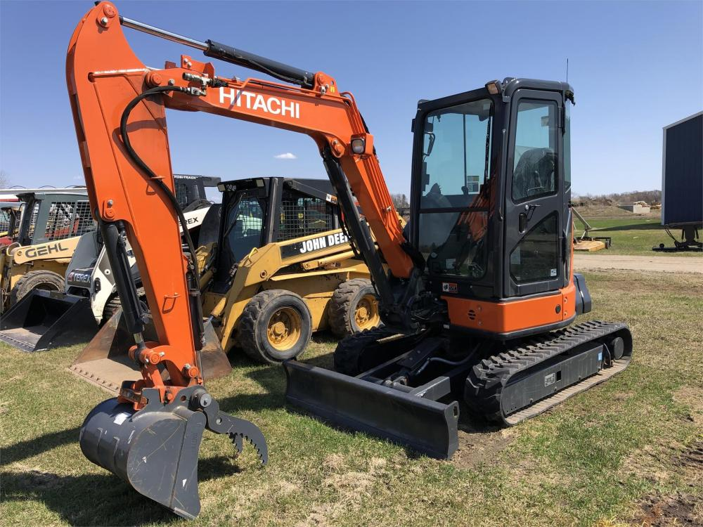 Detail photo of 2016 Hitachi ZX35U-5 from Construction Equipment Guide