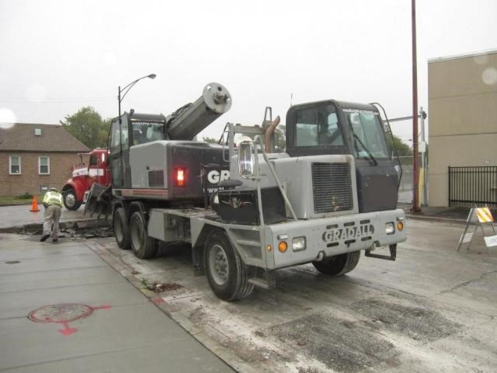 Detail photo of 2007 Gradall XL 4100 III from Construction Equipment Guide