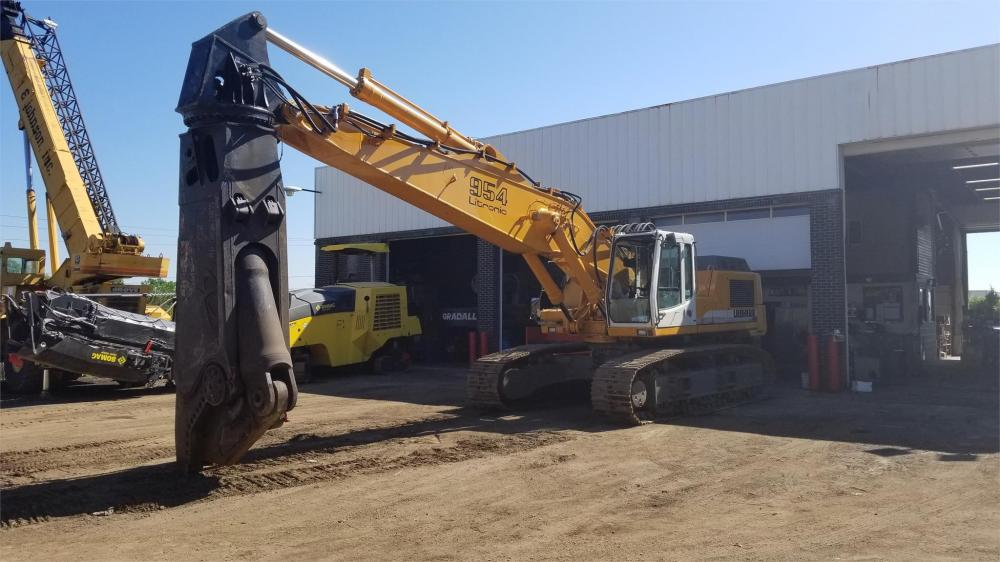 Detail photo of  Liebherr R954B LITRONIC from Construction Equipment Guide