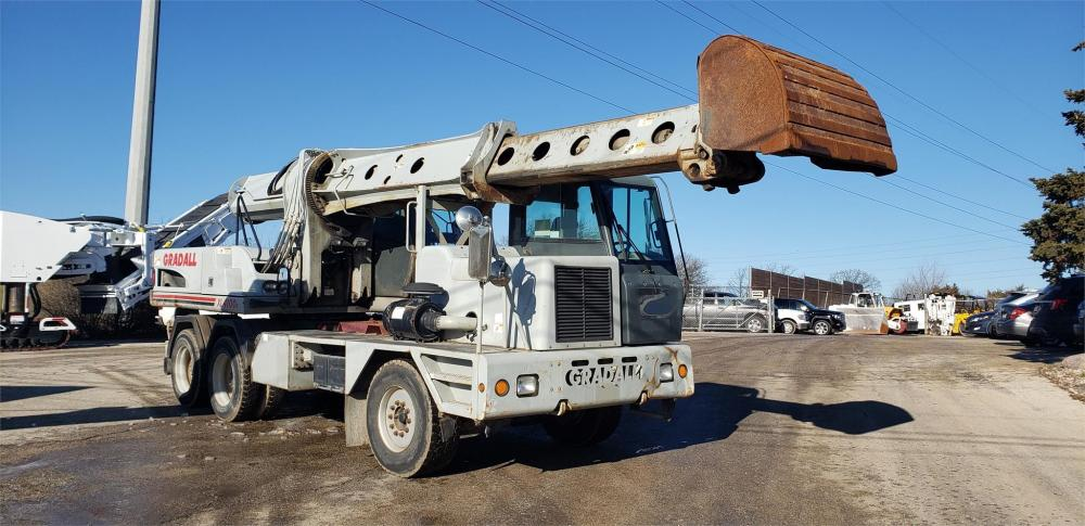 Detail photo of 2007 Gradall XL4100 II from Construction Equipment Guide