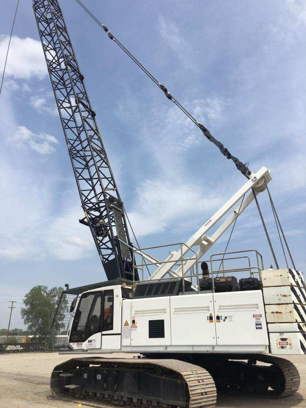 Detail photo of 2008 Liebherr HS 855 HD from Construction Equipment Guide