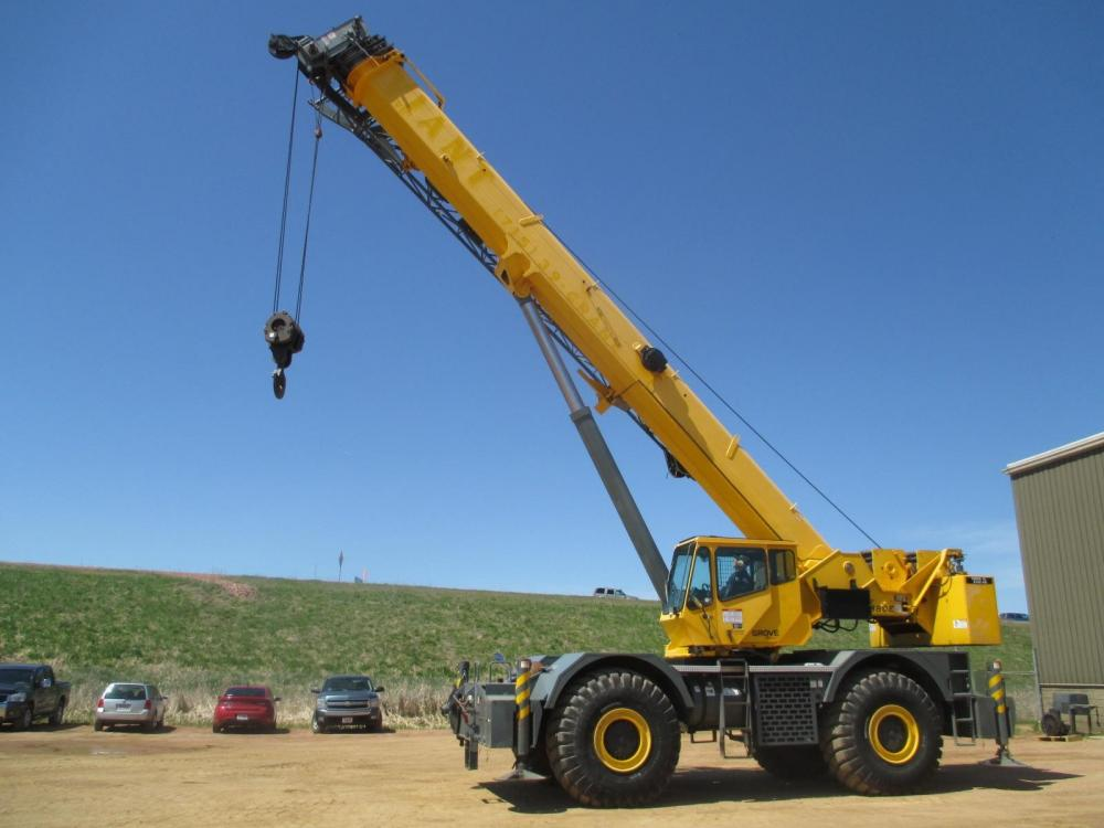 Detail photo of 2013 Grove RT880E from Construction Equipment Guide
