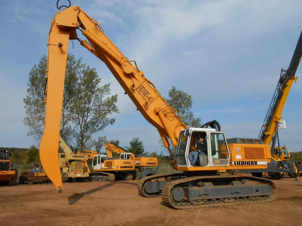 Detail photo of 1999 Liebherr R954CHDW from Construction Equipment Guide