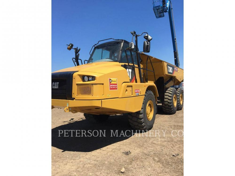Detail photo of 2018 Caterpillar 730C2 from Construction Equipment Guide