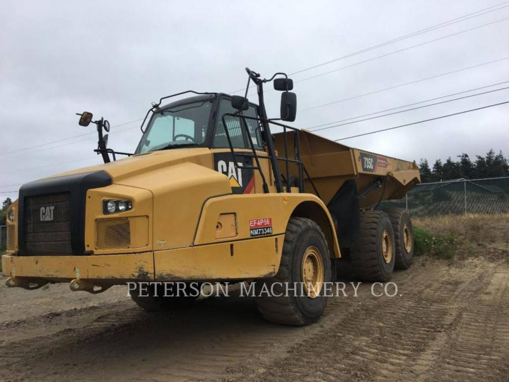 Detail photo of 2016 Caterpillar 735C from Construction Equipment Guide
