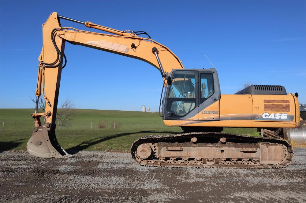 Detail photo of 2008 Case CX290B from Construction Equipment Guide