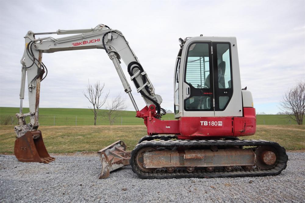 Detail photo of 2012 Takeuchi TB180FR from Construction Equipment Guide
