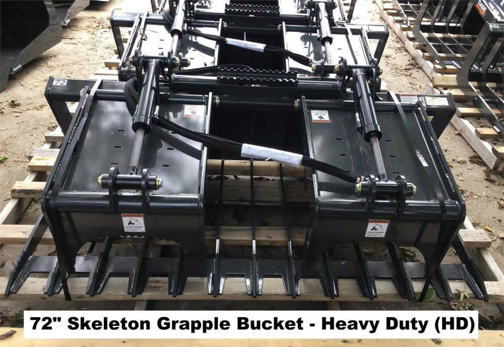 Detail photo of 2018 Case 72IN. SKELETON GRAPPLE BUCKETS (HD) from Construction Equipment Guide
