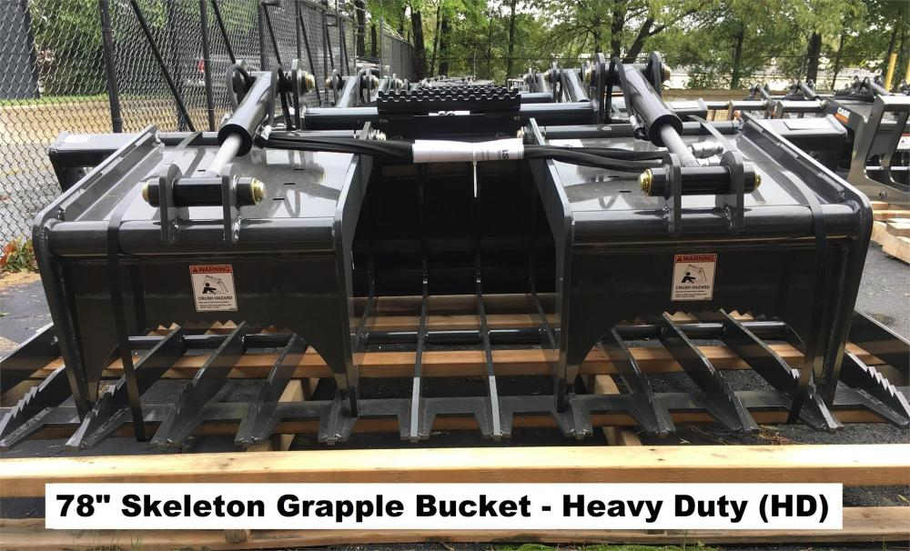 Detail photo of 2018 Case 78 IN. SKELETON GRAPPLE BUCKET (HD) from Construction Equipment Guide