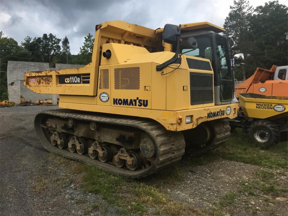 Detail photo of 2005 Komatsu CD110R from Construction Equipment Guide