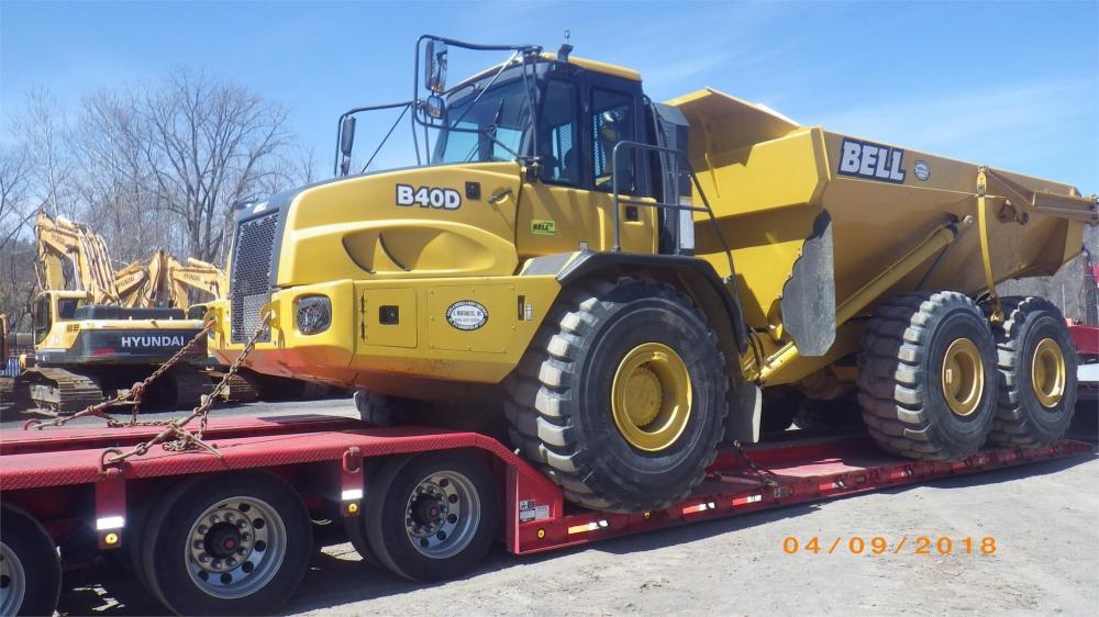 Detail photo of 2016 Bell  B40D from Construction Equipment Guide