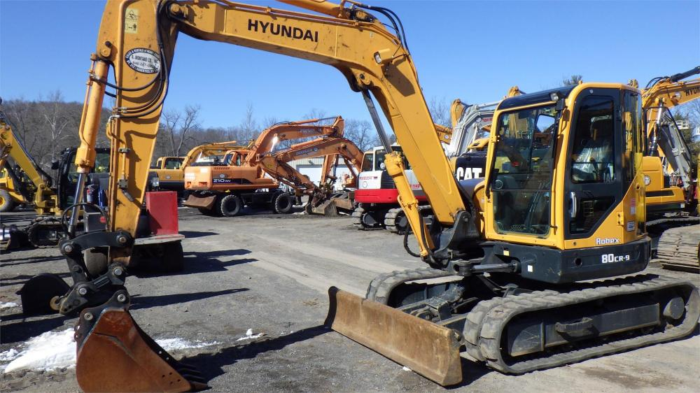 Detail photo of 2014 Hyundai ROBEX 80CR-9 from Construction Equipment Guide