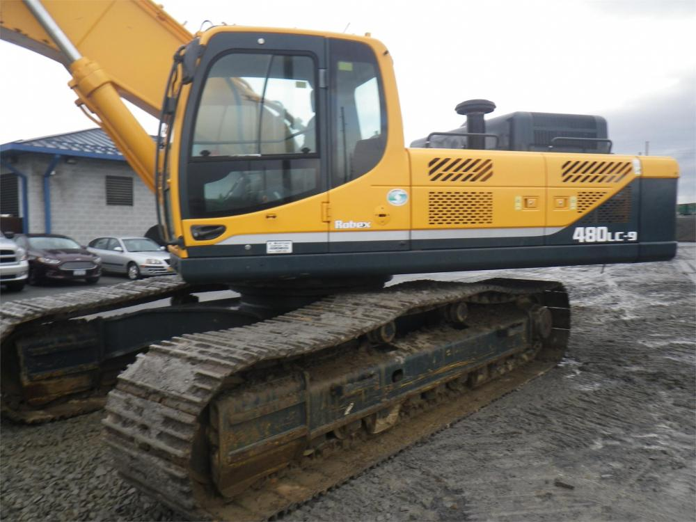 Detail photo of 2012 Hyundai ROBEX 480 LC-9 from Construction Equipment Guide