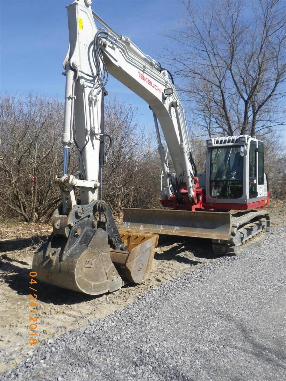 Detail photo of 2015 Takeuchi TB1140-2 from Construction Equipment Guide