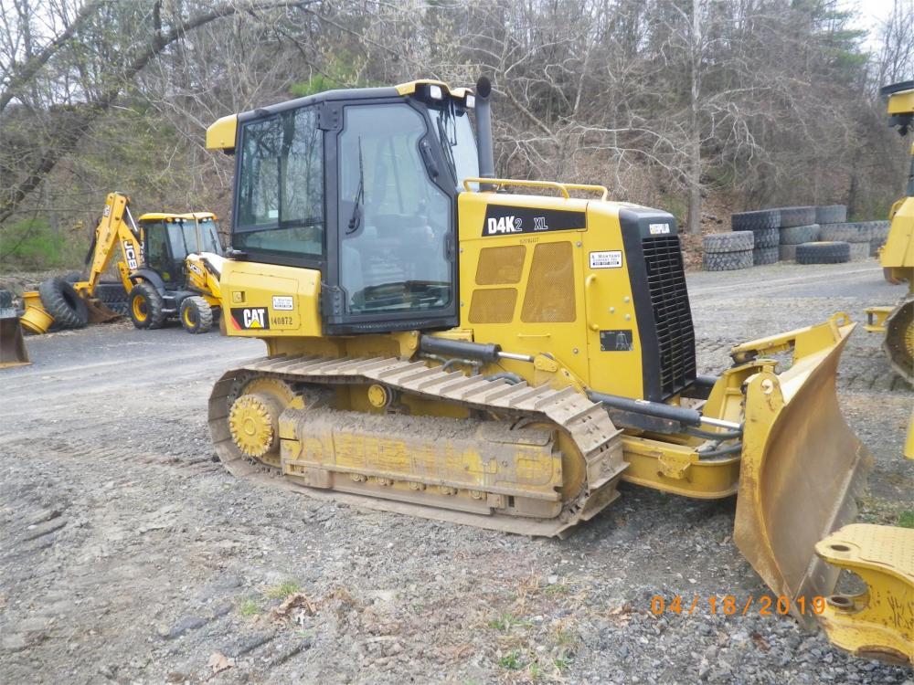 Detail photo of 2015 Caterpillar D4K XL II from Construction Equipment Guide