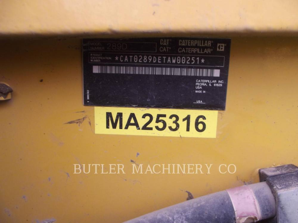 Detail photo of 2013 Caterpillar 289D from Construction Equipment Guide