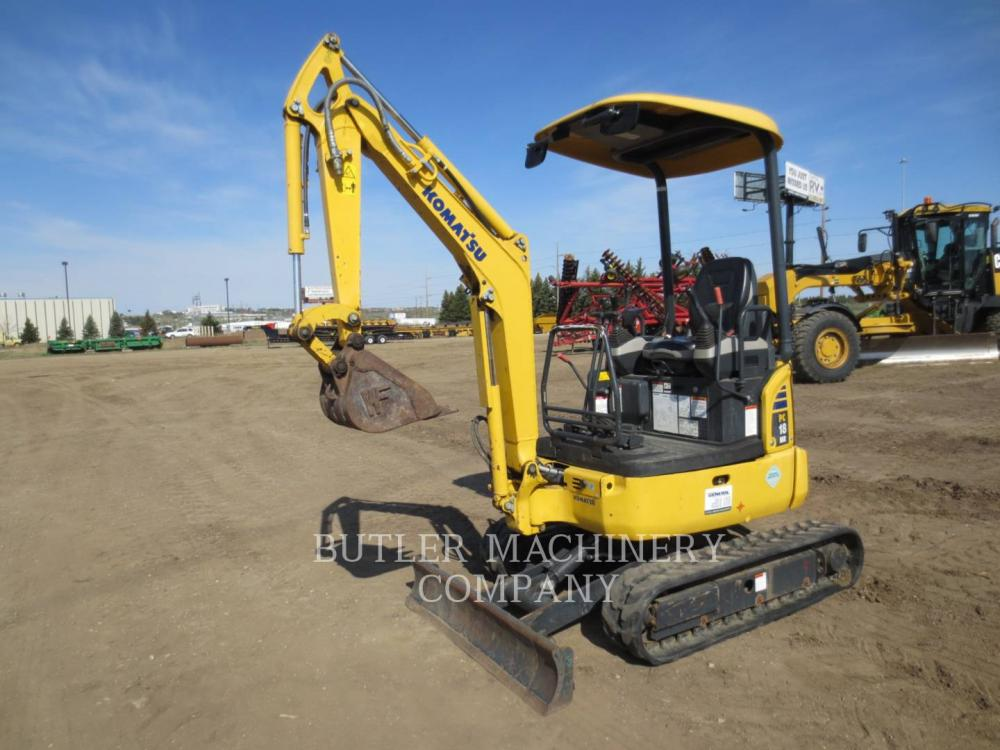 Detail photo of 2012 Komatsu PC18MR-3 from Construction Equipment Guide