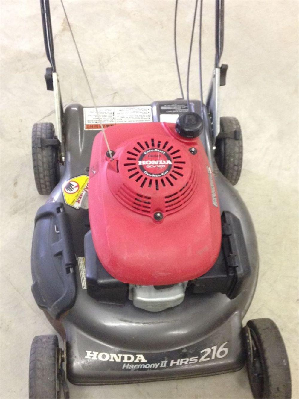 Detail photo of  Honda  HRS 216 SELF PROPELLED MOWER from Construction Equipment Guide