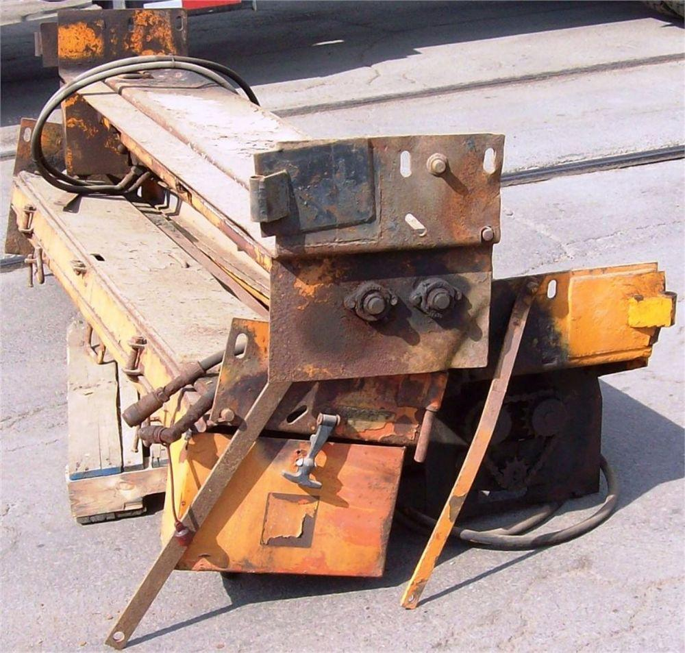 Detail photo of  Meyer THREE TAILGATE HYDRAULIC DRIVEN SPREADERS from Construction Equipment Guide