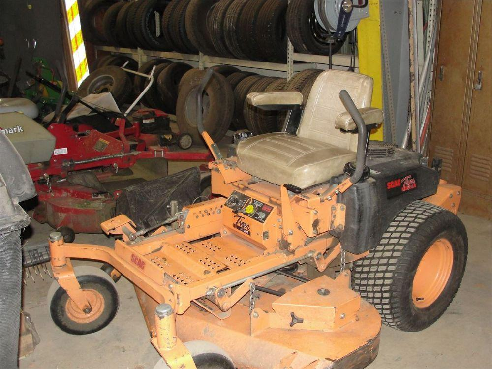 Detail photo of 2002 Tigercat SMTC-52A ZERO TURN MOWER from Construction Equipment Guide