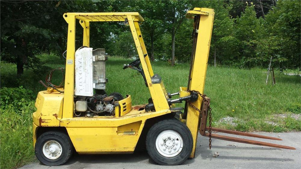 Detail photo of  Toyota FORKLIFT (BFD8) from Construction Equipment Guide