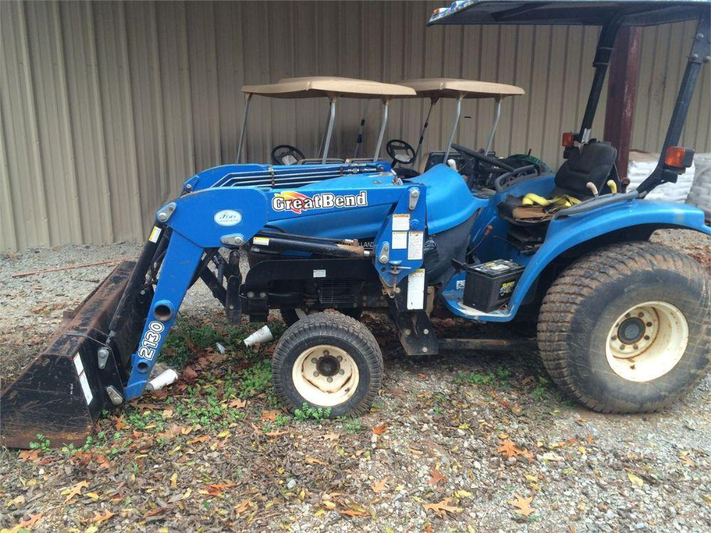 Detail photo of 2000 New Holland TRACTOR from Construction Equipment Guide