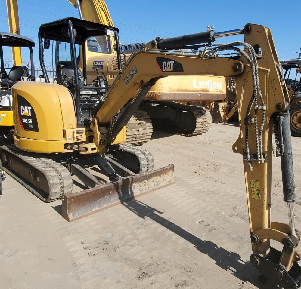 Detail photo of 2012 Caterpillar 303.5E CR from Construction Equipment Guide