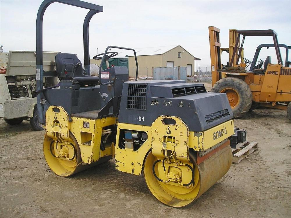 Detail photo of  Bomag BW 100 AD-3 from Construction Equipment Guide