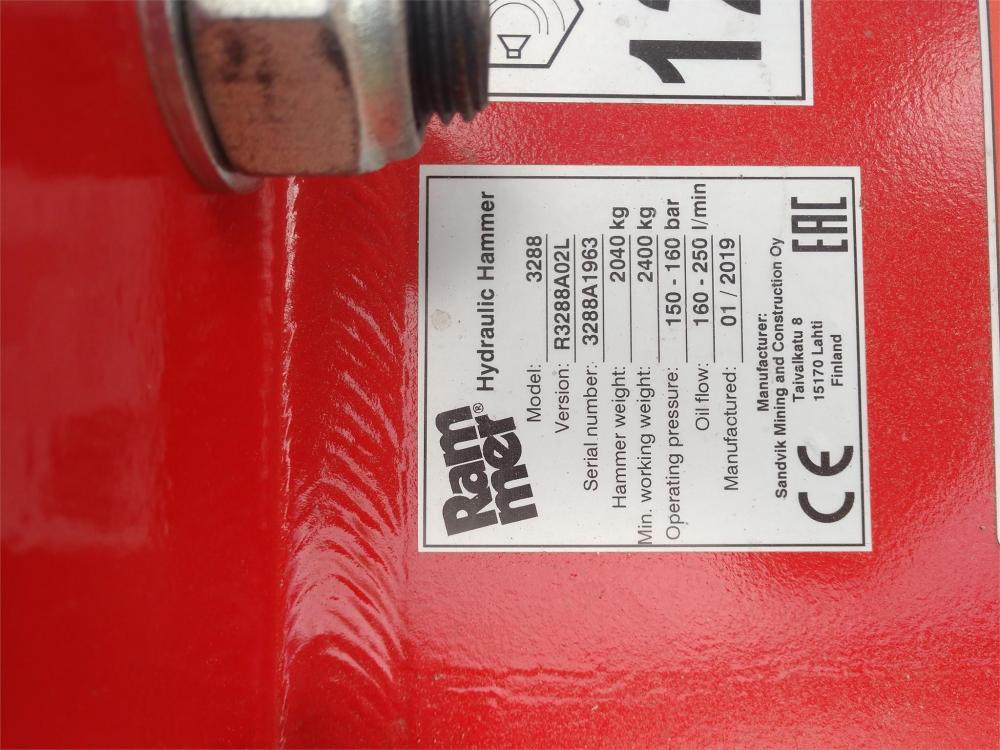 Detail photo of 2019 Rammer BR3288 from Construction Equipment Guide