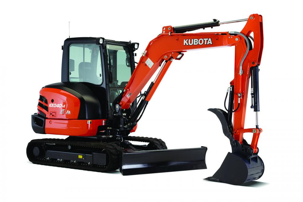 Detail photo of 2020 Kubota KX040-4 from Construction Equipment Guide