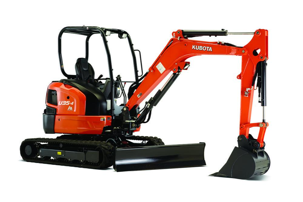 Detail photo of 2020 Kubota U354R1A from Construction Equipment Guide