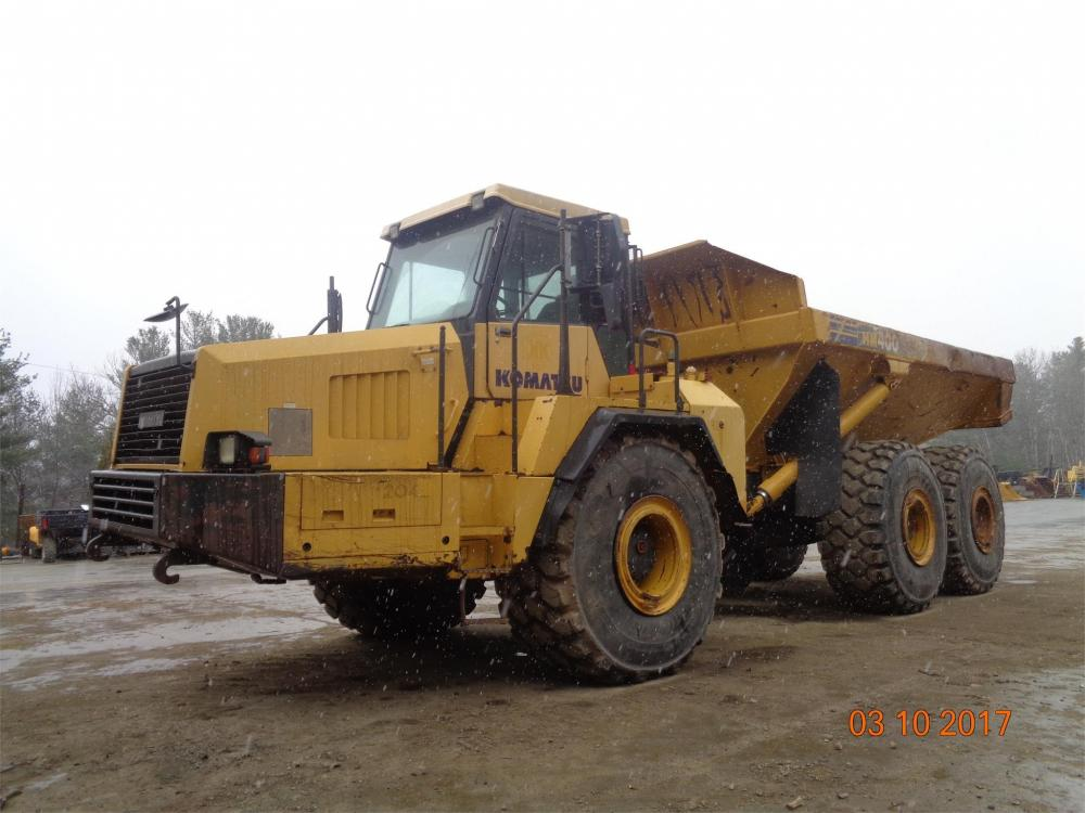 Detail photo of 2006 Komatsu HM400-1 from Construction Equipment Guide