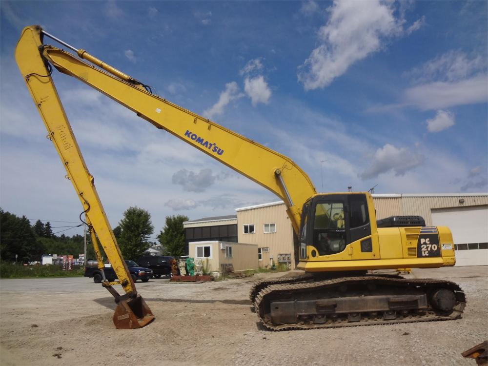 Detail photo of 2007 Komatsu PC270LC-8 from Construction Equipment Guide