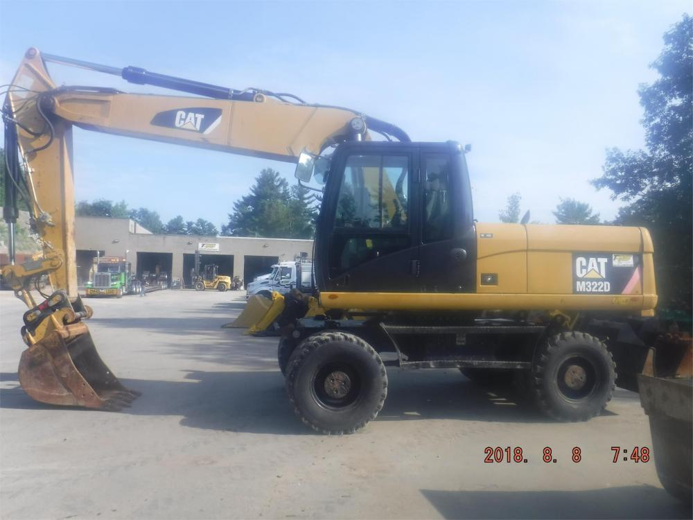 Detail photo of 2010 Caterpillar M322D from Construction Equipment Guide