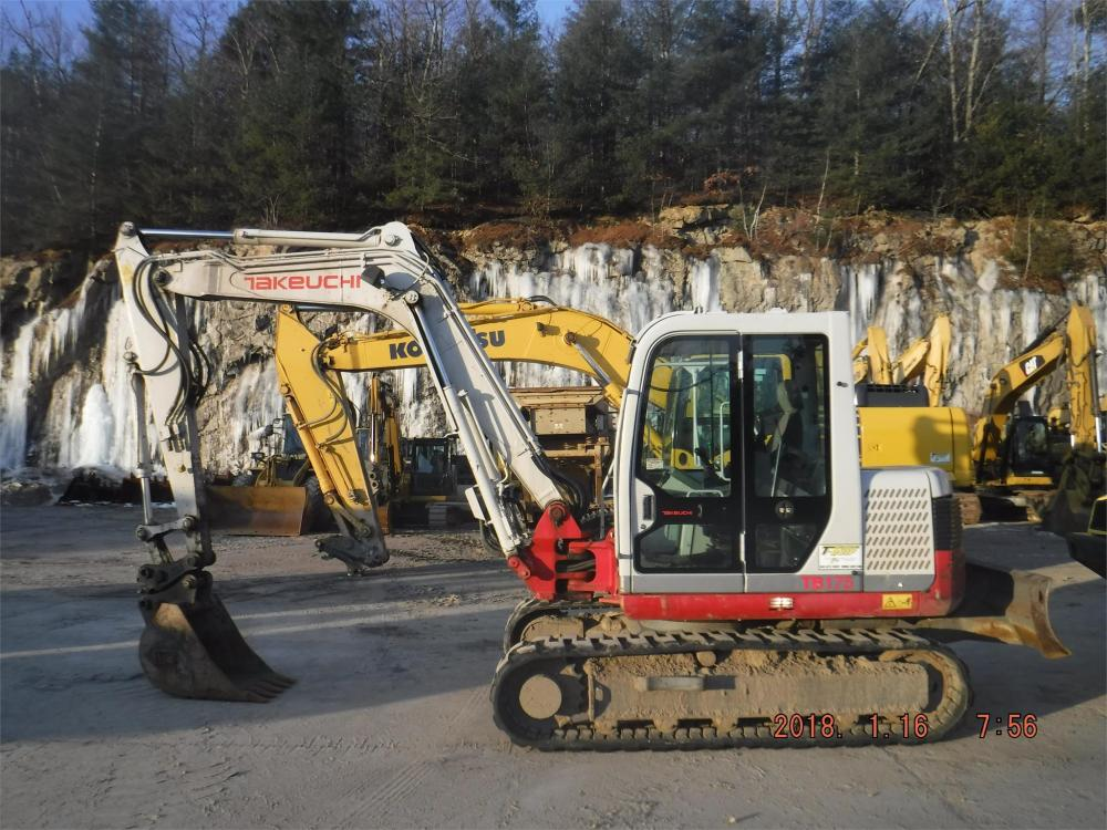 Detail photo of 2011 Takeuchi TB175 from Construction Equipment Guide