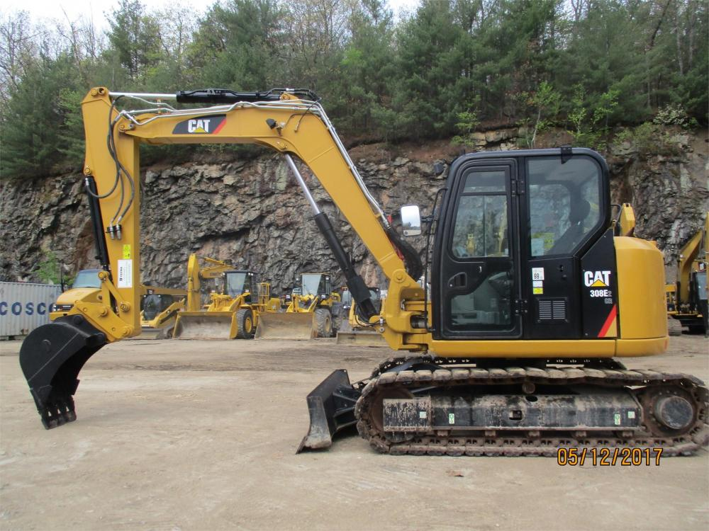 Detail photo of 2015 Caterpillar 308E2 CR from Construction Equipment Guide