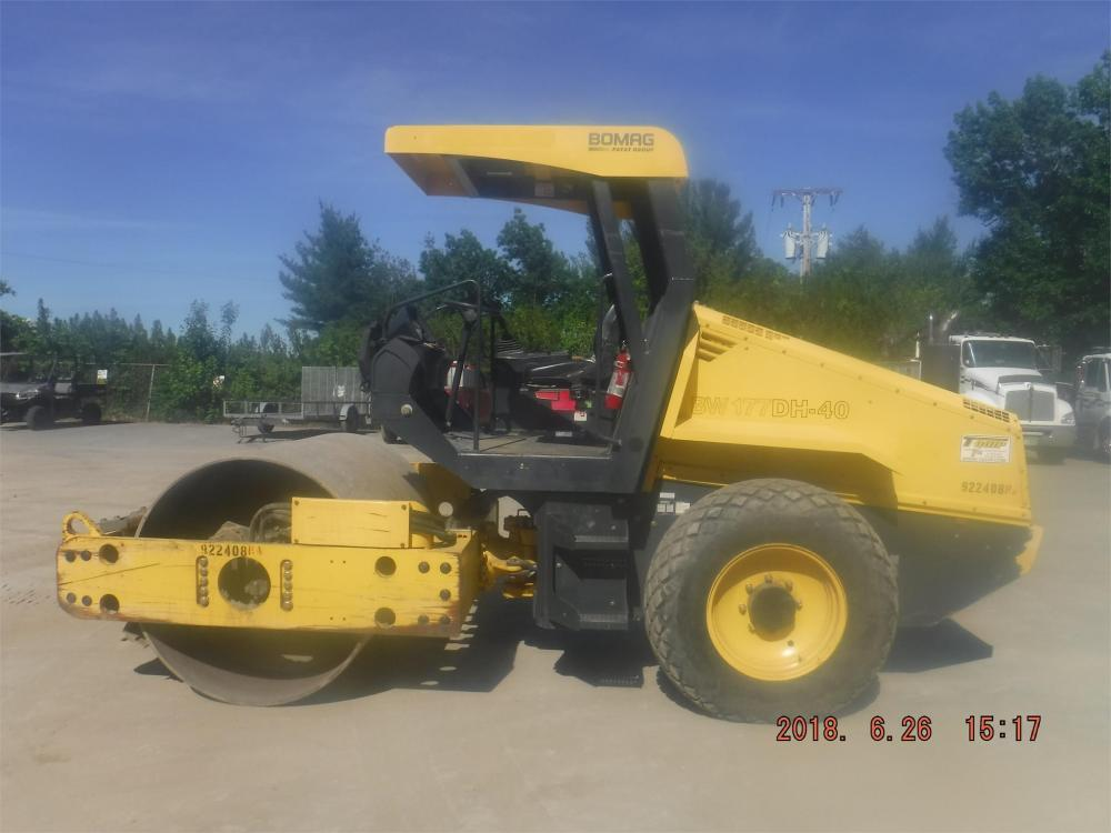 Detail photo of 2012 Bomag BW 177 PDH-40 from Construction Equipment Guide
