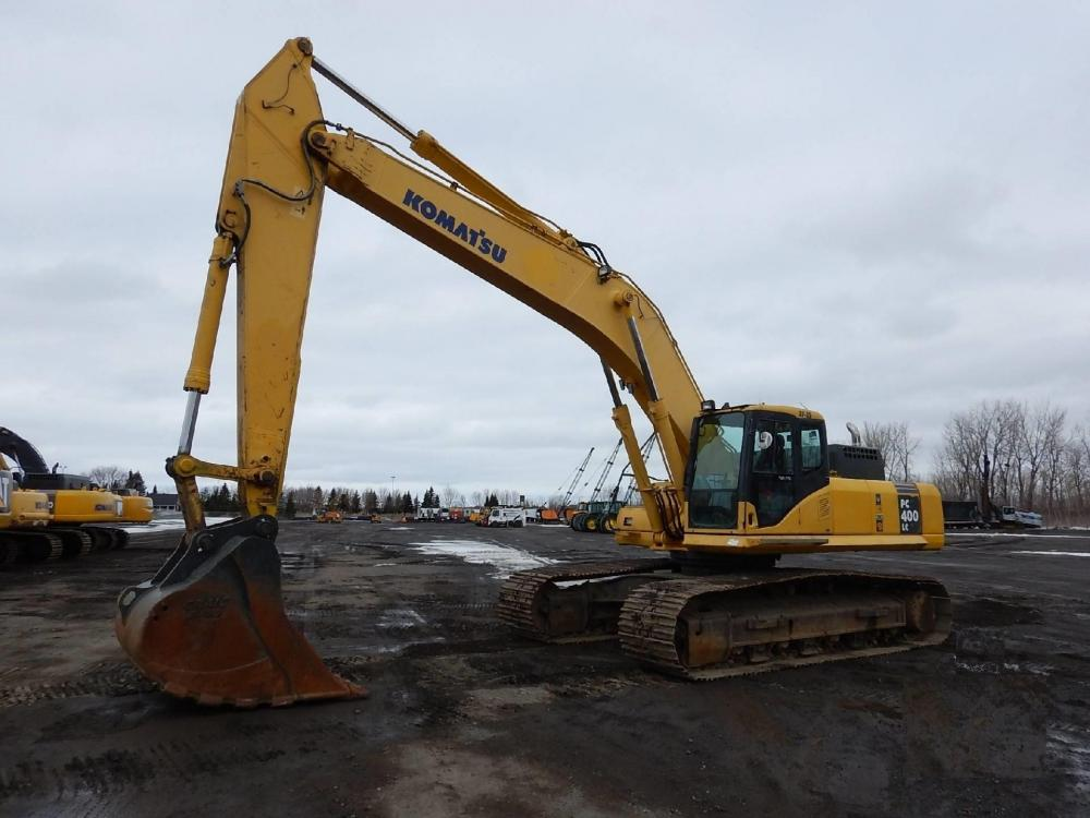 Detail photo of 2006 Komatsu PC400 from Construction Equipment Guide
