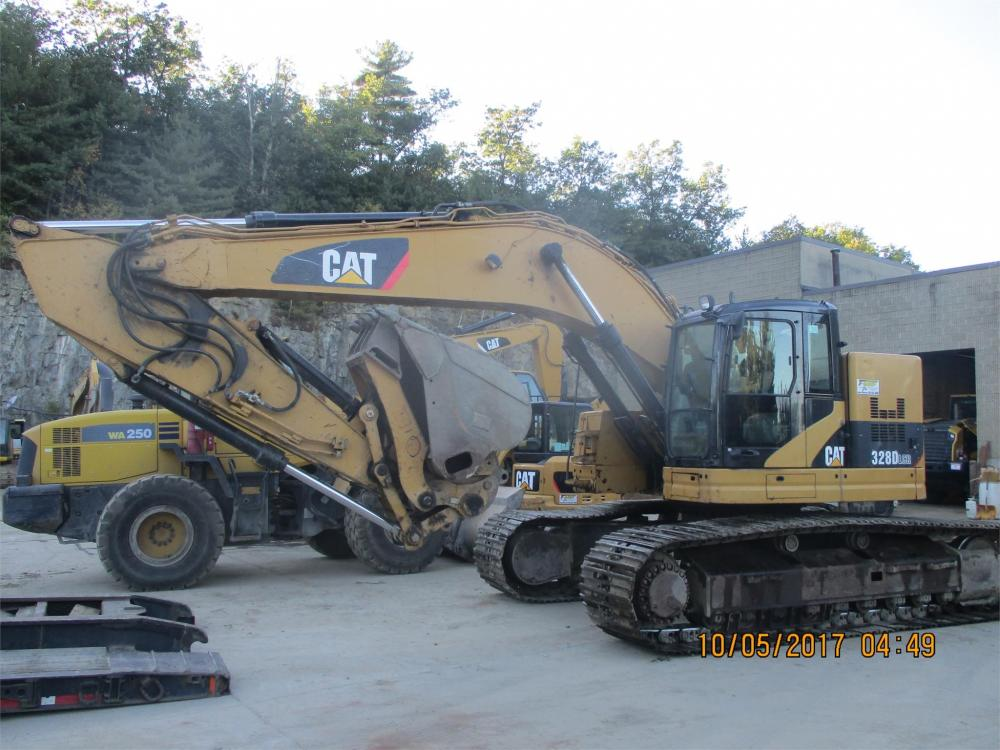 Detail photo of 2008 Caterpillar 328D from Construction Equipment Guide