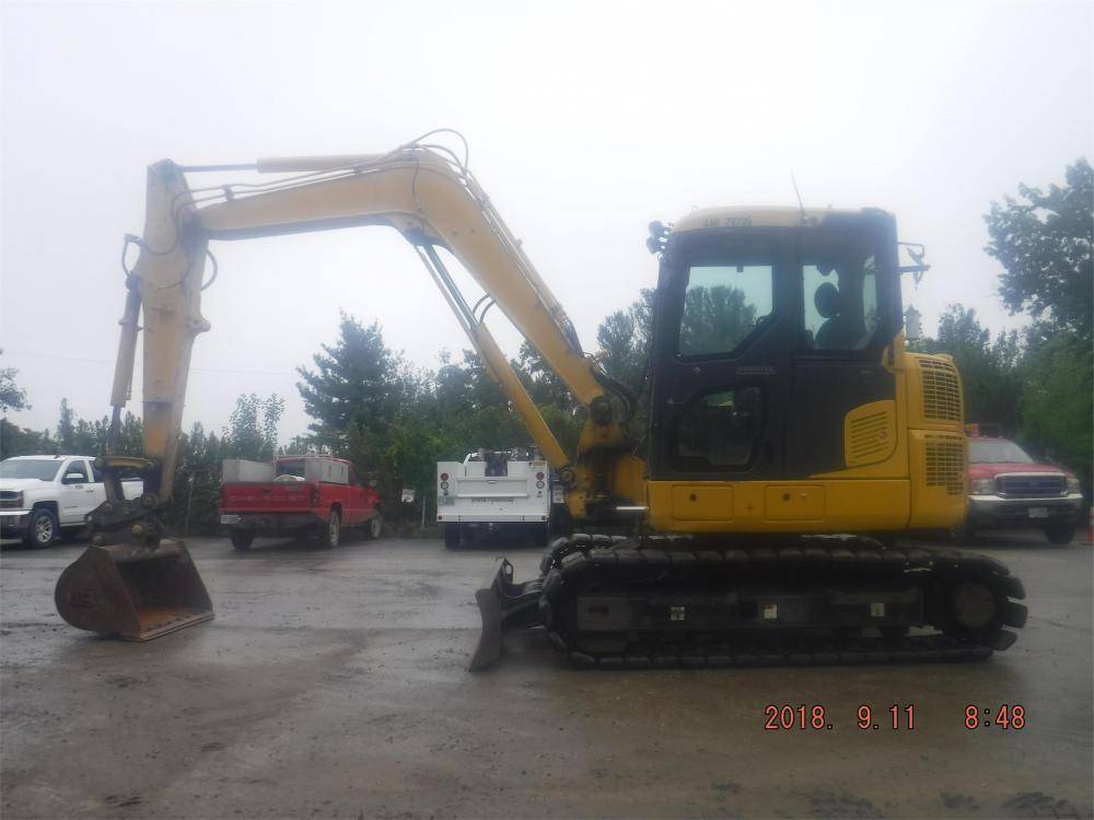 Detail photo of 2015 Komatsu PC88MR-10 from Construction Equipment Guide