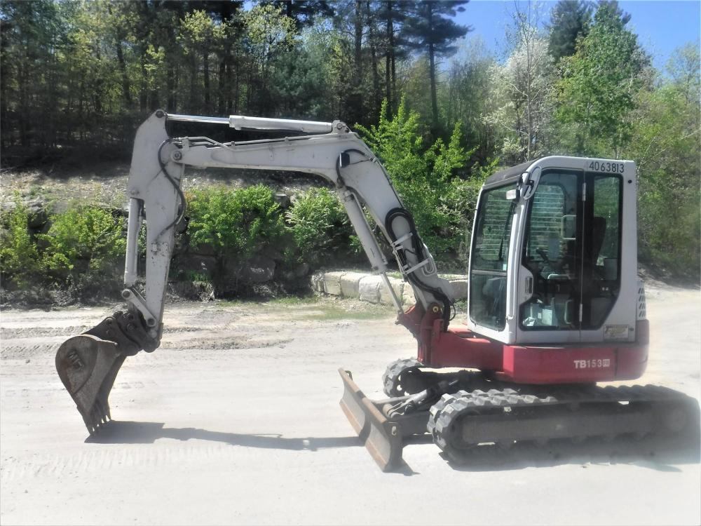 Detail photo of 2011 Takeuchi TB153FR from Construction Equipment Guide