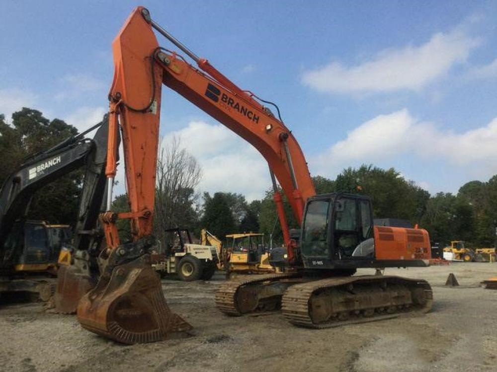 Detail photo of 2013 Hitachi ZX350LC-5 from Construction Equipment Guide